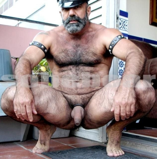 Bear naked gay porn