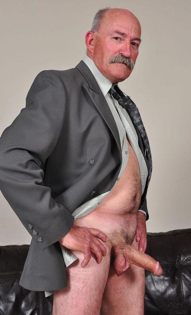 Old man fuck hard big dick